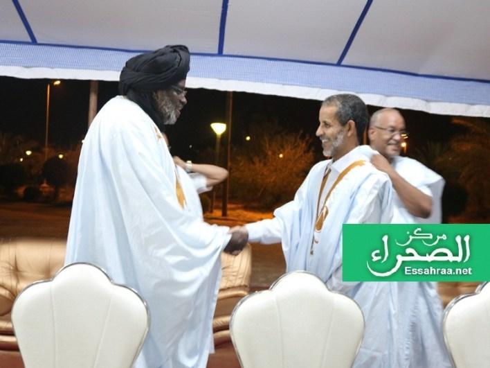 الوزير الأول رفقة نائب رئيس الجمعية الوطنية - (المصدر: الصحراء)