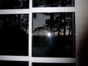 Du coucher de soleil sur mer