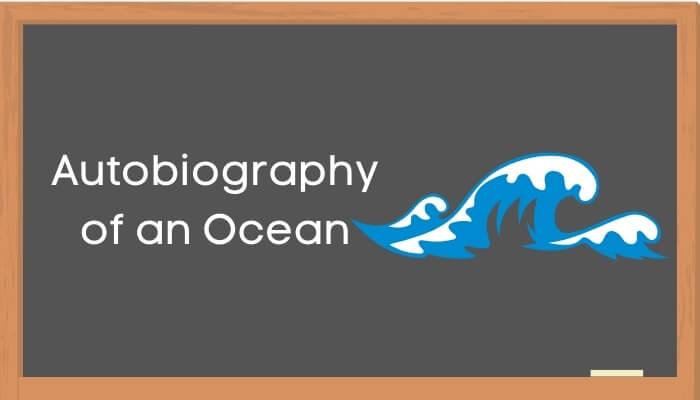 सागर की आत्मकथा हिंदी निबंध - Autobiography of Ocean Essay in Hindi