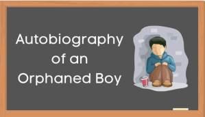 एक अनाथ बालक की आत्मकथा हिंदी निबंध - Autobiography of Orphaned Boy Essay in Hindi