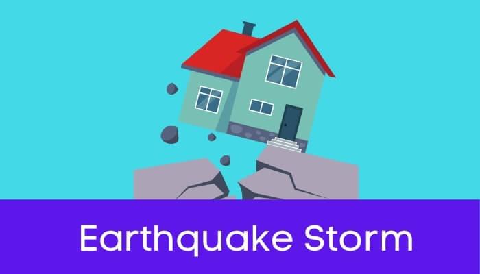 भूकंप की संहारलीला हिंदी निबंध - Earthquake Storm Essay in Hindi
