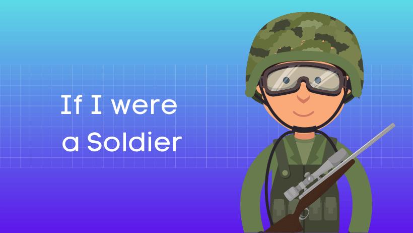 यदि मै सैनिक होता हिंदी निबंध Essay on If I were the Soldier in Hindi