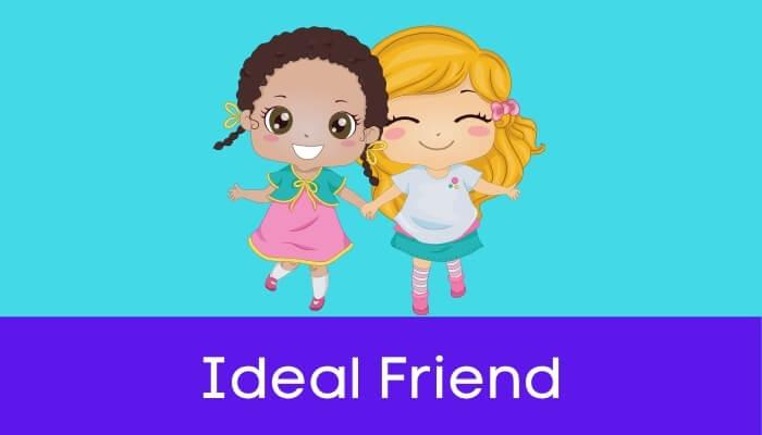 आदर्श मित्र हिंदी निबंध - Ideal Friend Essay in Hindi