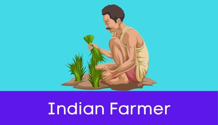 भारतीय किसान हिंदी निबंध - Indian Farmer Essay in Hindi