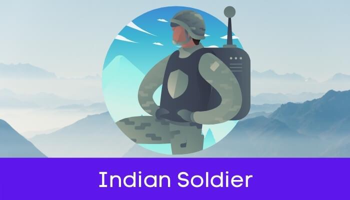 भारतीय सैनिक हिंदी निबंध - Indian Soldier Essay in Hindi