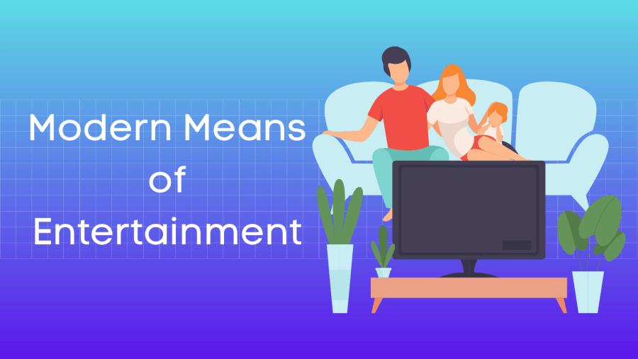 मनोरंजन के आधुनिक साधन हिंदी निबंध Modern Means of Entertainment Essay in Hindi
