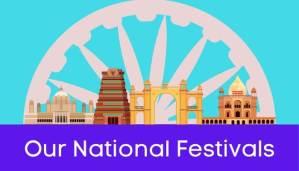 हमारे राष्ट्रीय त्योहार हिंदी निबंध - Our National Festivals Essay in Hindi