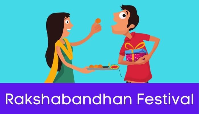 रक्षाबंधन का त्योहार हिंदी निबंध - Rakshabandhan Festival Essay in Hindi