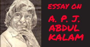 ESSAY ON APJ ABDUL KALAM IN ENGLISH 250, 500 AND 1000+ WORDS