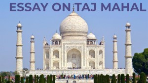 ESSAY ON TAJ MAHAL | TAJ MAHAL ESSAY IN ENGLISH 200, 500,1000 + WORDS