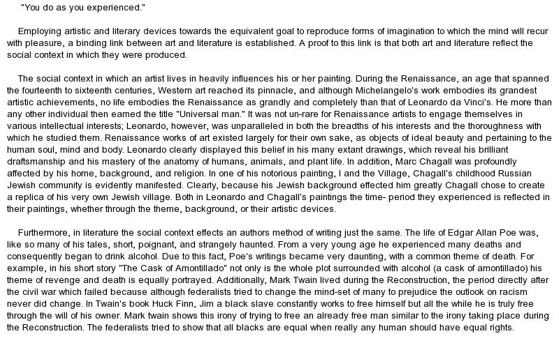 Essays On Art Term Paper Art Essay About Modern Art Images