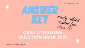 cbse question Bank class 10 2021