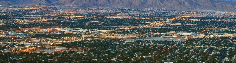 Aerial View of Las Vegas, NV