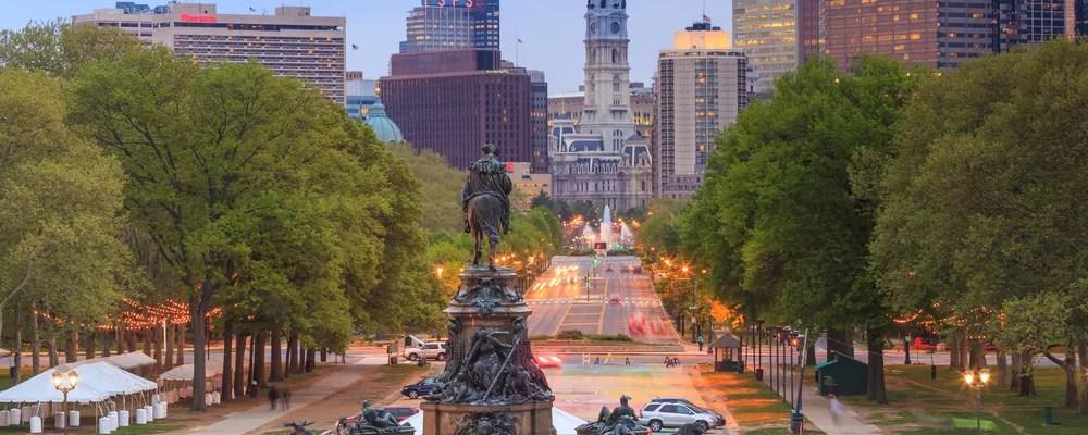 Statue in Philadelphia, PA