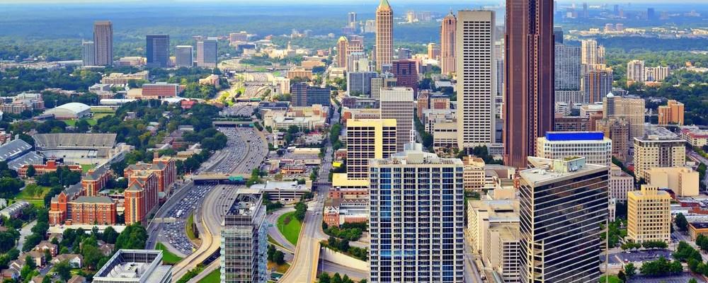 Skyline of Atlanta, GA