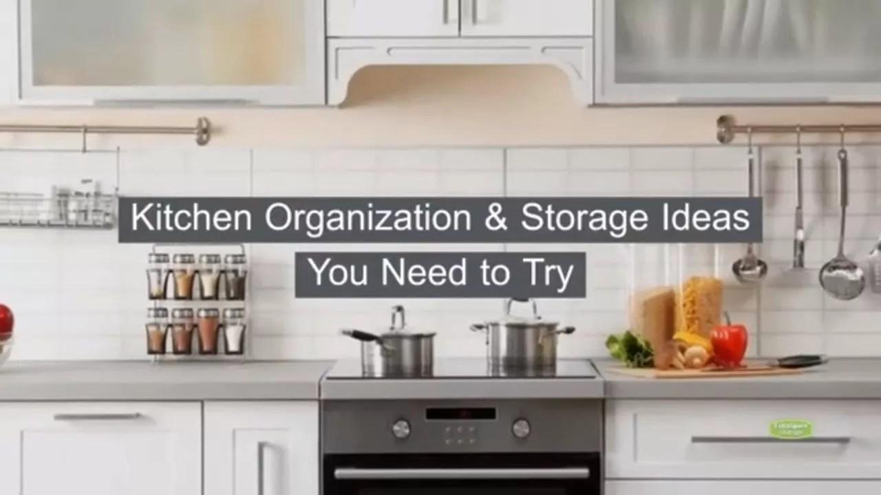 31 Kitchen Organization & Storage Ideas You Need to Try ...