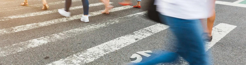 People walking in NYC