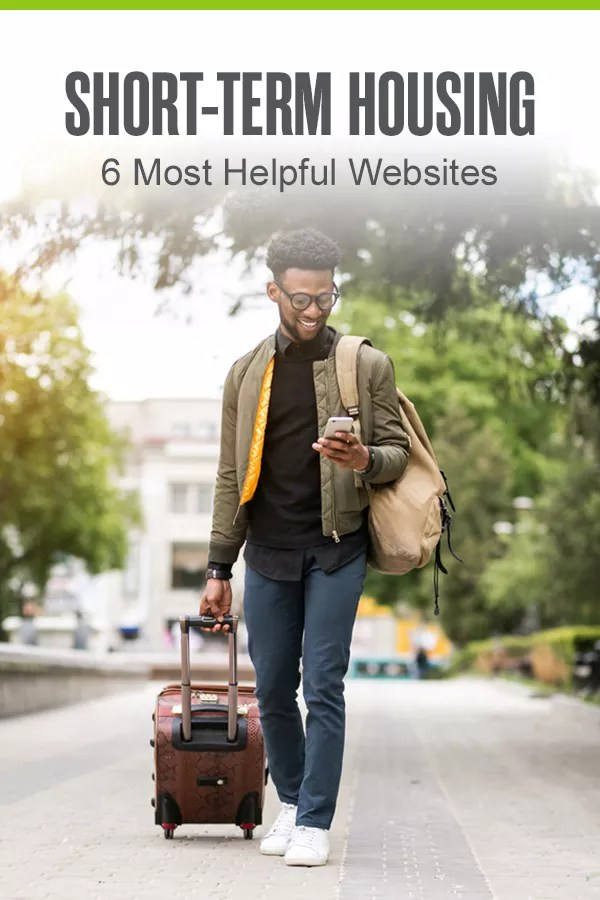 Looking for a short-term housing solution? Whether you want to stay in an extended stay hotel or rent an apartment or house for a few weeks or months, these home rental websites can help you find the temporary housing option that's best for your needs! via @extraspace