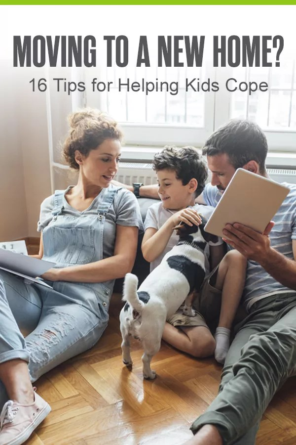 Moving to a new home? Packing up all of your belongings and getting settled in a new house can be a difficult transition for your family, especially for your kids. In our helpful guide, we share 16 creative ideas for making moving easier on the whole family! via @extraspace