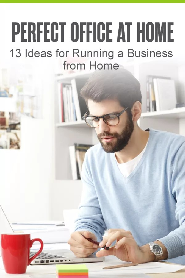 Running a small business from home? Find helpful tips for designing your ideal home office and staying productive while working from home in our guide! via @extraspace