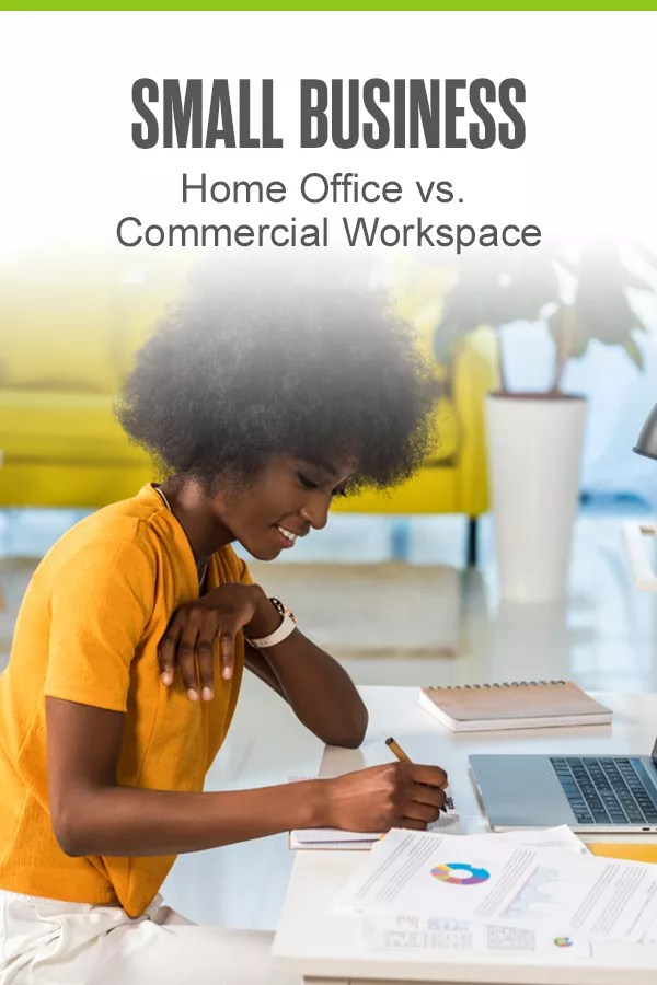 Has your small business outgrown your home office? It might be time to move to a commercial workspace. Check out our guide to learn about your business office options! via @extraspace