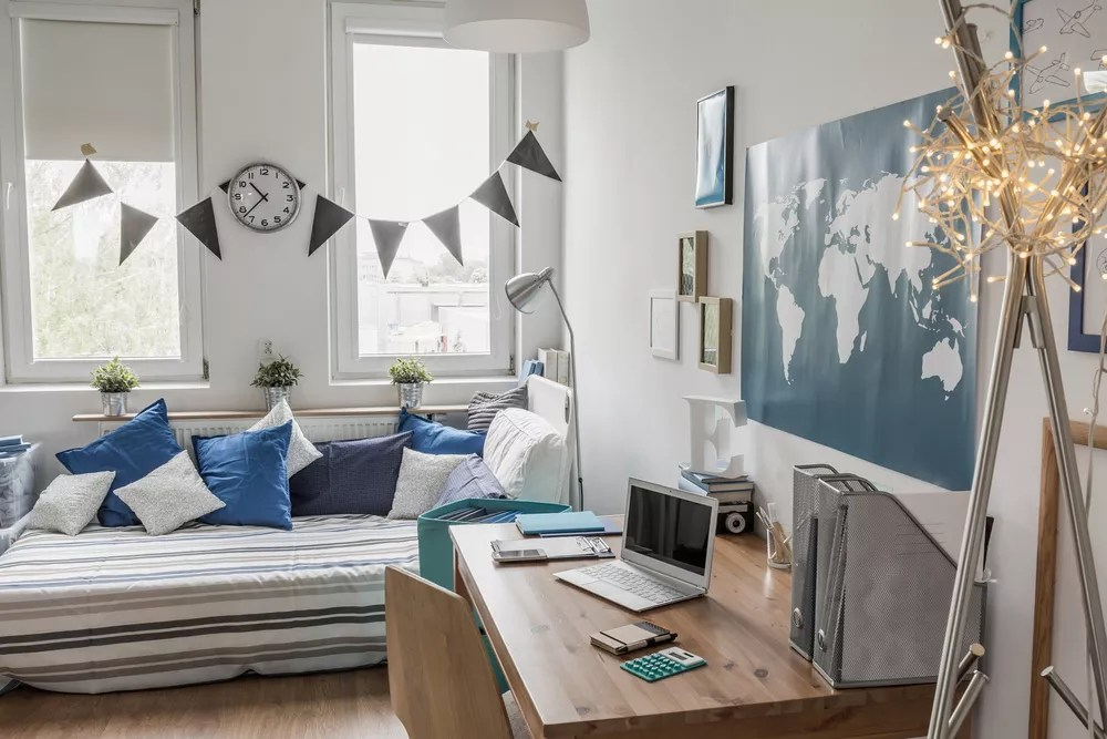 Declutter Your Dorm Room with These 26 Organization Ideas via @extraspace