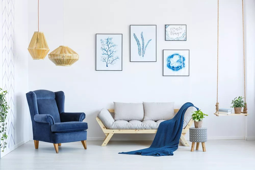 Design a Minimalist Home with These 19 Decorating Tips via @extraspace