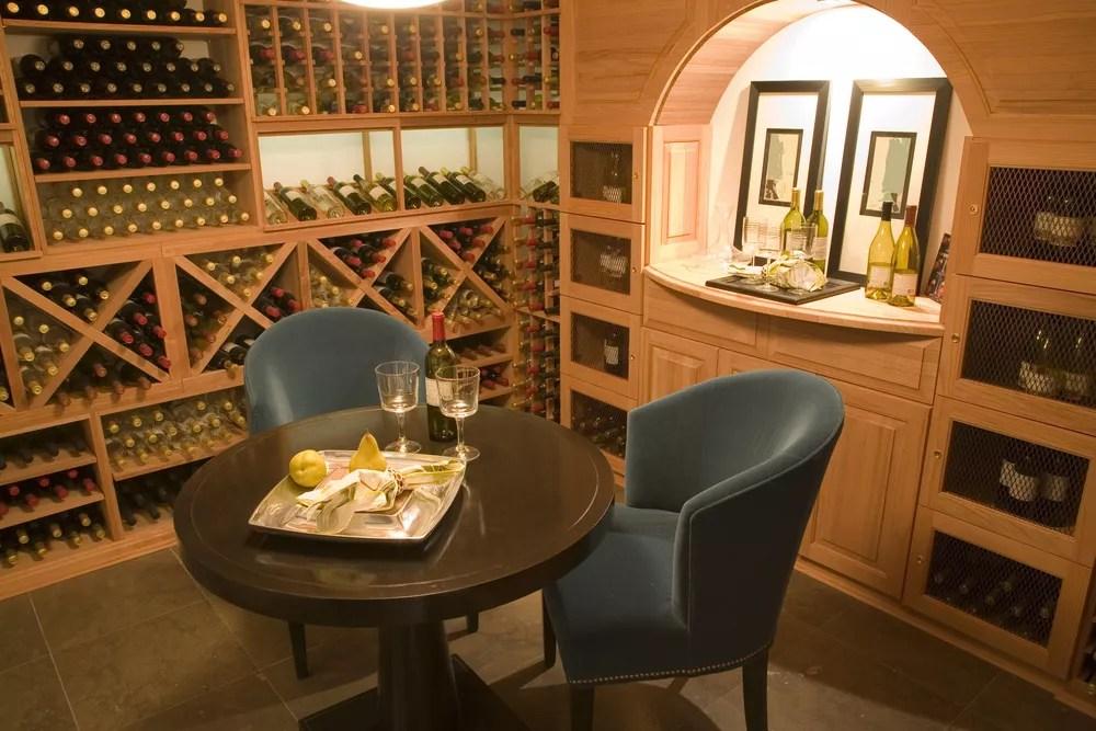 21 home wine room design organization