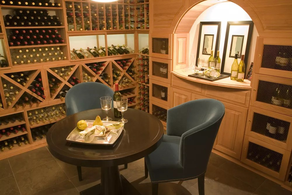 How to Create a Wine Room at Home via @extraspace