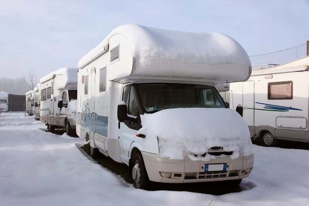 Vehicle Winterization Tips: How to Winterize an RV via @extraspace