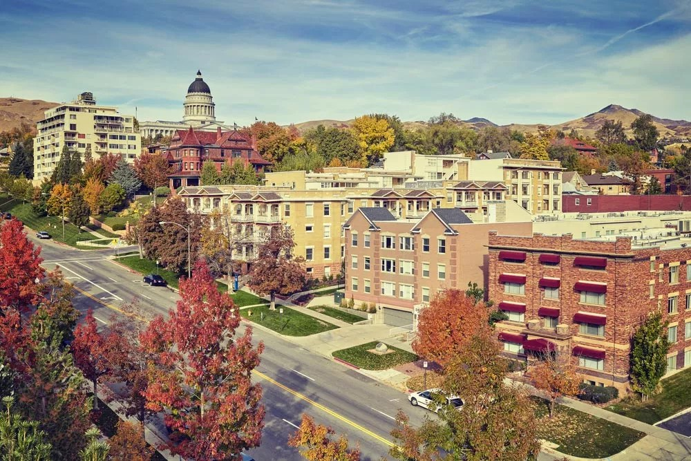 Best Neighborhoods in Salt Lake City for Singles & Young Professionals via @extraspace