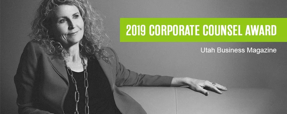 Extra Space Storage CLO Gwyn McNeal is honored as one of Utah Business Magazine's Corporate Counsel Award recipients.