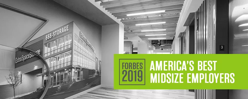 Forbes Names Extra Space Storage One of America's Best Midsize Employers via @extraspace