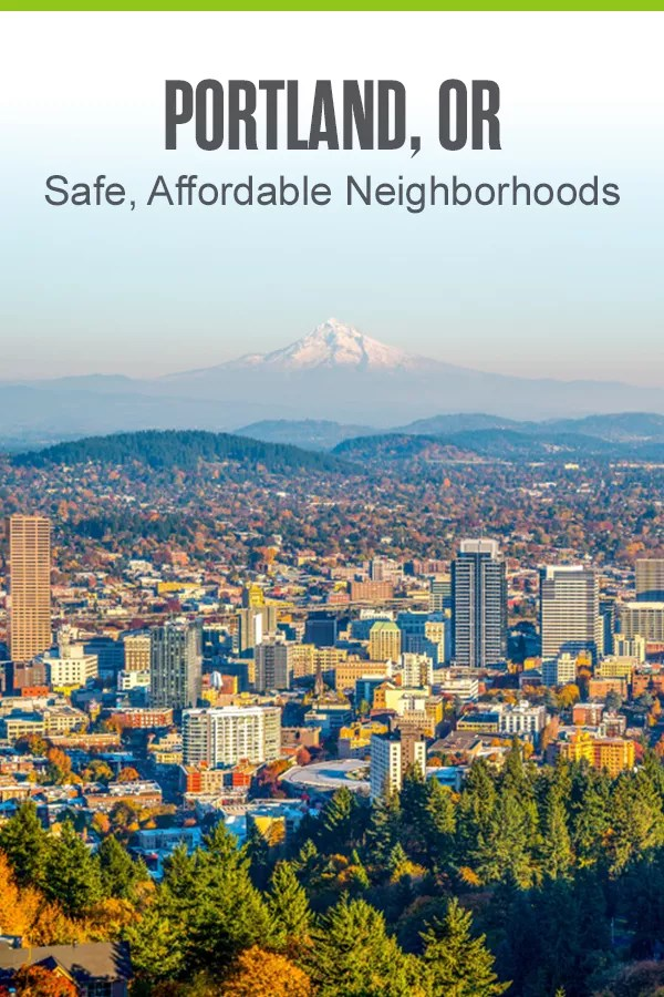 Thinking about moving to Portland? If you're looking for safe, affordable places to live in PDX, these five Portland neighborhoods offer a variety of budget-friendly housing options, low crime rates, convenient locations, and plenty of things to do! via @extraspace