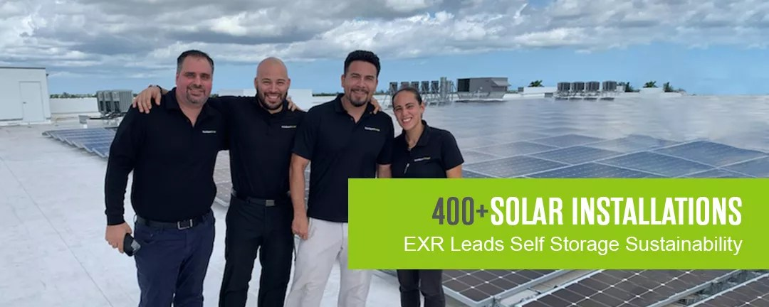 Extra Space Storage Leads Self Storage Sustainability with 400+ Solar Installations via @extraspace
