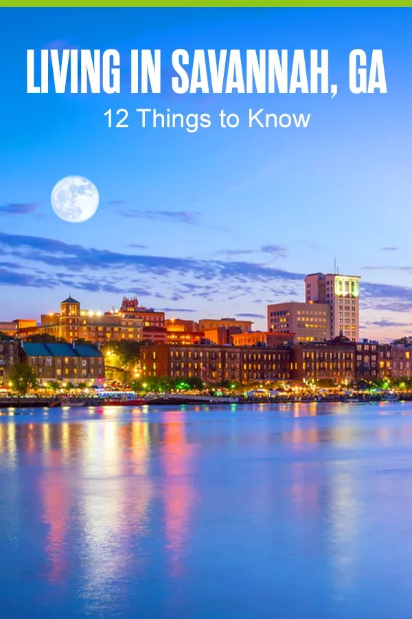 Thinking about living in Savannah? Georgia's oldest city is known for its Southern history, friendly citizens, and amazing food. Here are 12 things to know about Savannah! via @extraspace