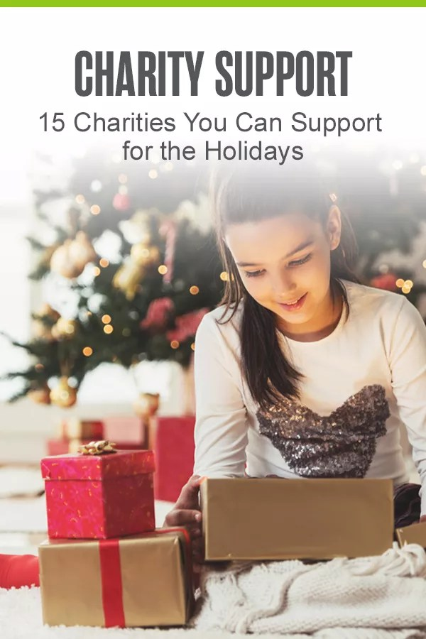 Looking for a way to give back during the holidays? Check out this list of charities you can support to help make someone else's holiday season brighter! via @extraspace