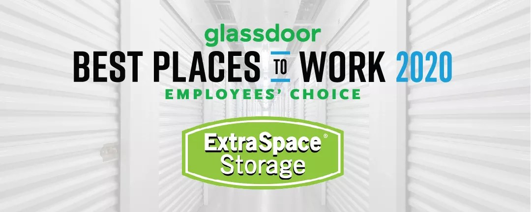 Extra Space Storage Recognized Among Glassdoor's Best Places to Work 2020 via @extraspace
