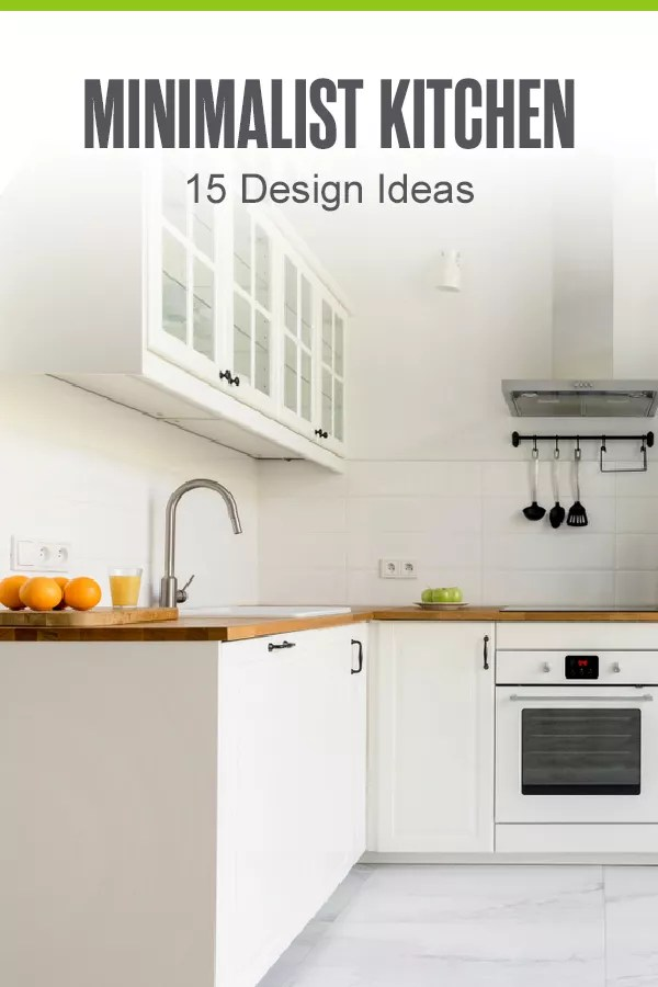 Want to mix some minimalism into your kitchen's look and feel? Check out these 15 kitchen design ideas for creating the minimalist kitchen of your dreams! via @extraspace