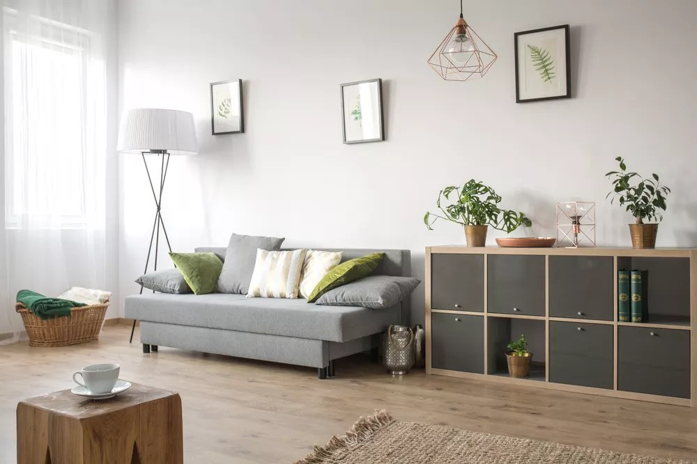 Modern Minimalist Living Room Small End Table Simple Home Coffee Table US Stock