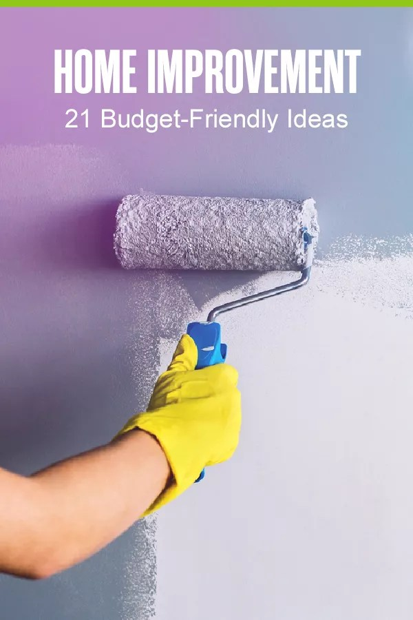 Looking for affordable and easy home improvement projects? These 21 budget-friendly home makeover ideas can help you design the home you've always wanted! via @extraspace