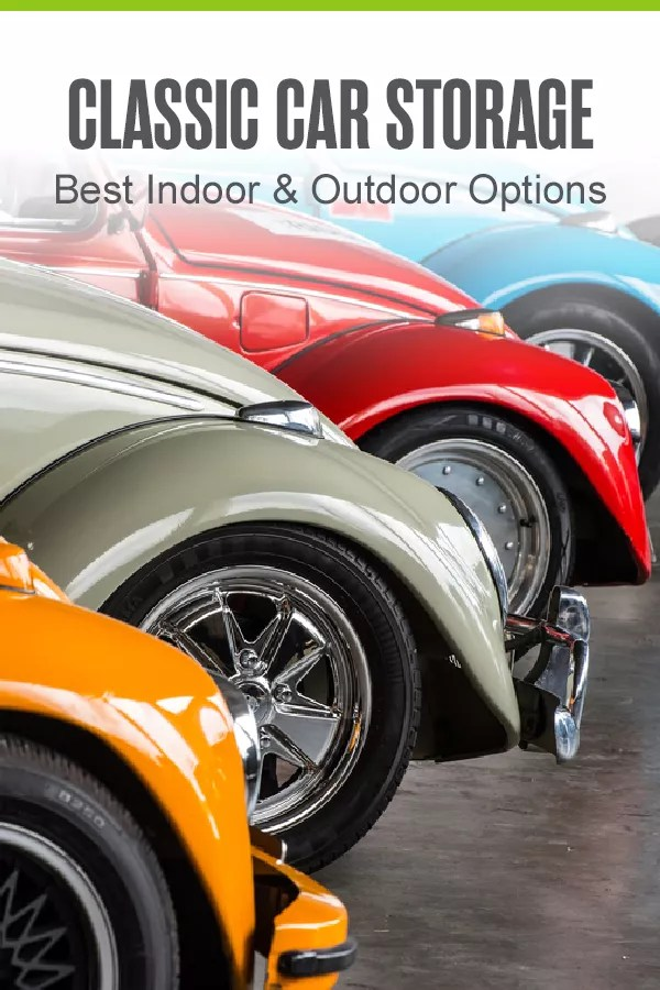 Searching for vehicle storage options for your classic car? Check out this helpful guide to find a wide range of solutions that are perfect for storing cars indoors or outdoors! via @extraspace