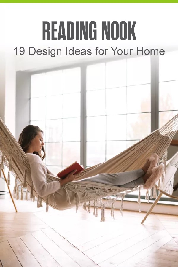 Looking to create a reading corner escape at home? Check out these 19 tips for creating and designing your own personal, cozy book nook! via @extraspace