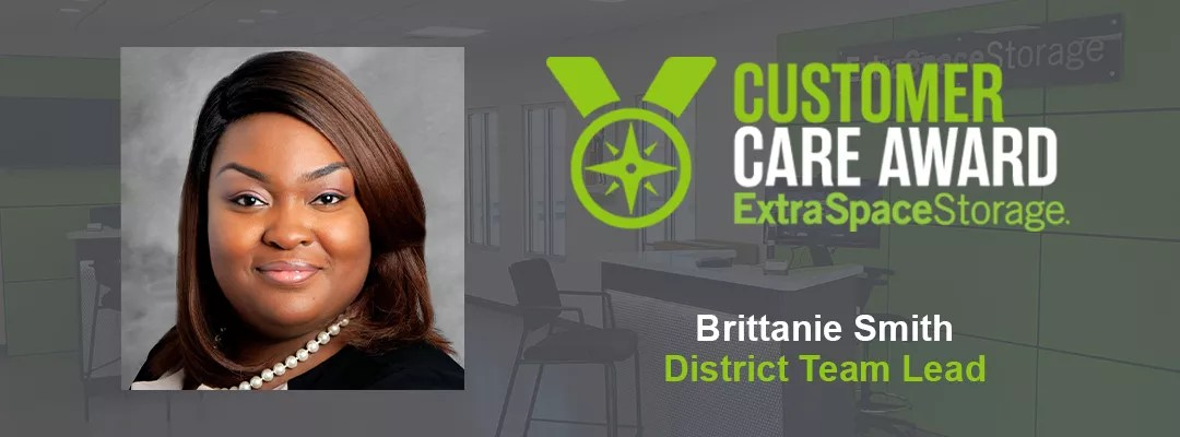 Featured Image: Customer Care Award: Extra Space Storage: Brittanie Smith, District Team Lead