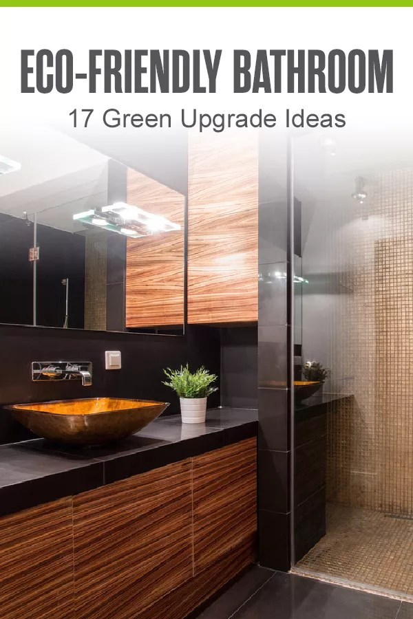 Looking for ways to go green in your bathroom? By utilizing low-flow plumbing, energy-efficient fixtures, and recycled products in your bathroom, you can create a more sustainable environment! via @extraspace