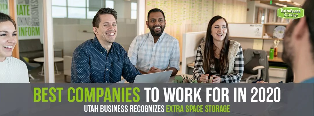 Best Companies to Work For 2020: Utah Business Recognizes Extra Space Storage