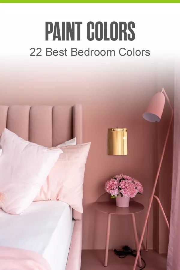 Preparing to paint your bedroom? From the best colors for small bedrooms to the most popular master bedroom colors, check out these top bedroom paint colors! via @extraspace