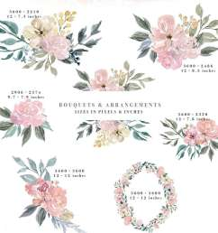 neutral watercolor flowers clipart floral borders frames watercolor background rustic clipart  [ 1160 x 1544 Pixel ]