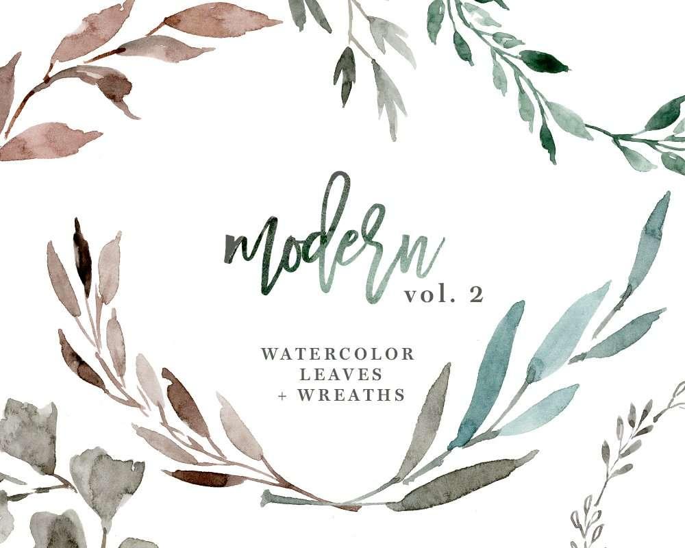medium resolution of watercolour wreath clipart watercolor leaves clipart floral clipart wedding clipart eucalyptus branch