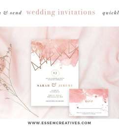 diy geometric watercolor wedding invitation backgrounds clipart table number decorations diy this set [ 1160 x 772 Pixel ]